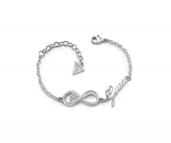 Guess Endless Love Silver Bracelet