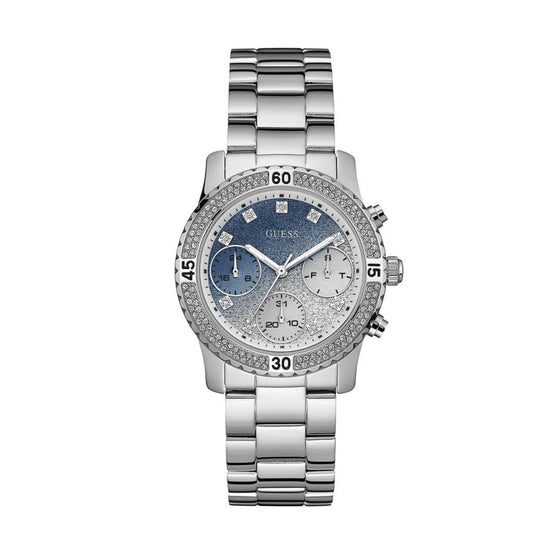 Guess Confetti Silver Watch