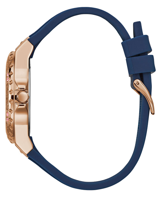 Guess Limelight Rose Gold & Navy Watch