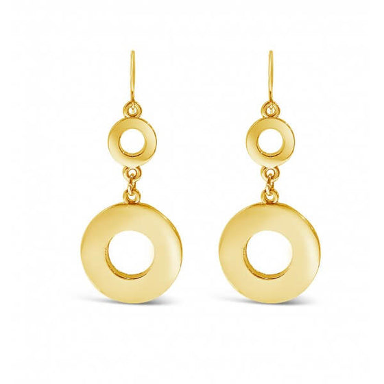 Absolute Gold Drop Earrings