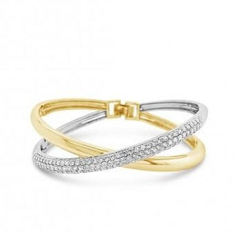 Absolute Gold & Silver Bangle BA221GL