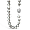 Absolute Grey Pearl Necklace - Short