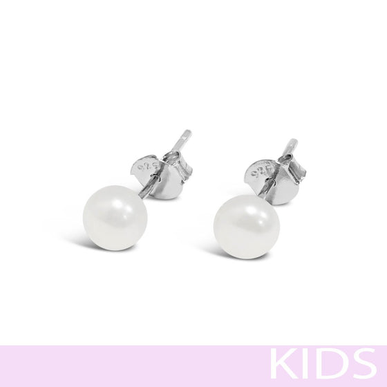 Absolute Kids Pearl Earrings