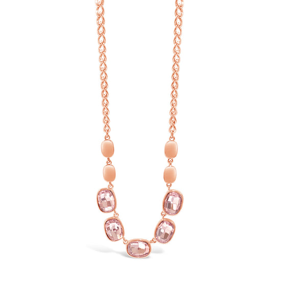 Absolute Rose Gold Pink Necklace