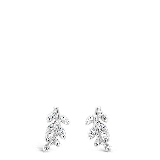 Absolute Sterling Silver Leaf  Earrings