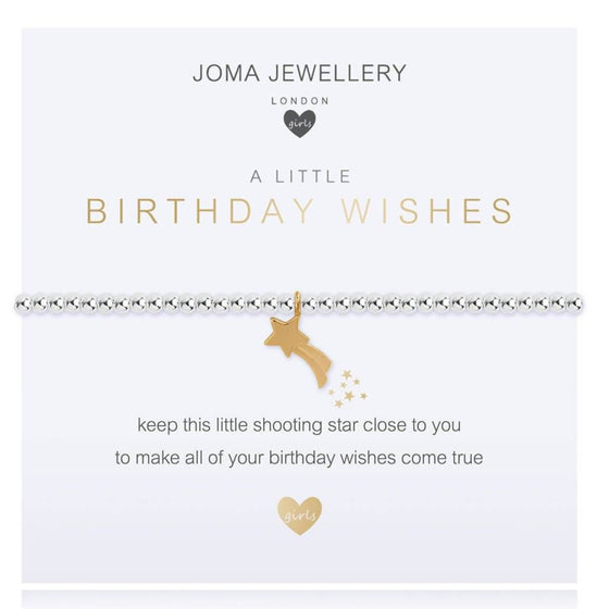 Joma Kids Birthday Wishes Bracelet c481