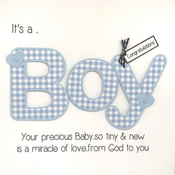 It's A Boy... Card