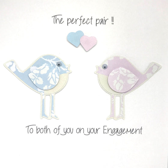 Perfect Pair Engagment Card