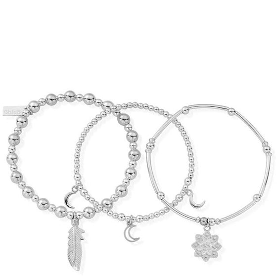 ChloBo Namaste Bracelet (set of 3)