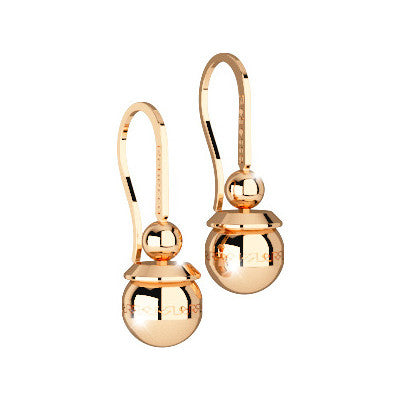 Rebecca Gold Boulevard Drop Earrings