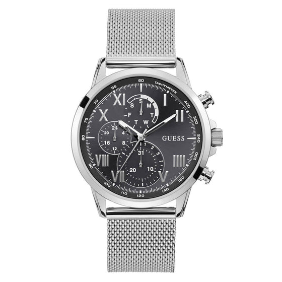 Guess Gents Porter Silver Watch