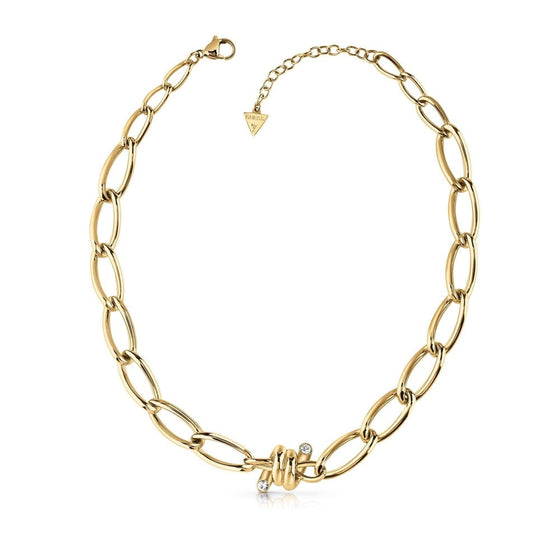 Guess Love Wire Gold Necklace
