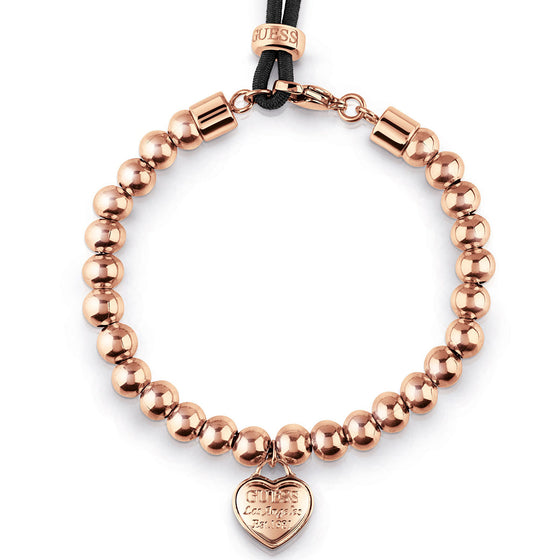Guess Beaded Rose Gold Bracelet