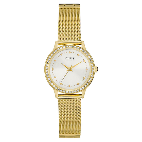 Guess Chelsea Gold Mesh Watch