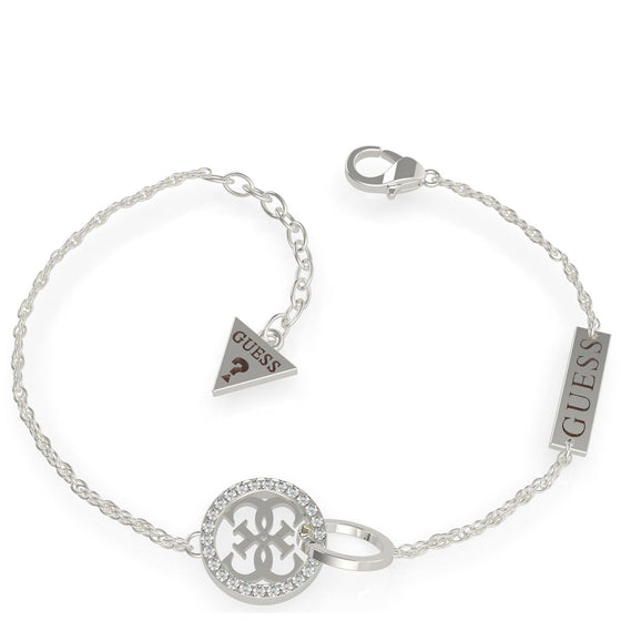Guess Equilibre Silver Bracelet