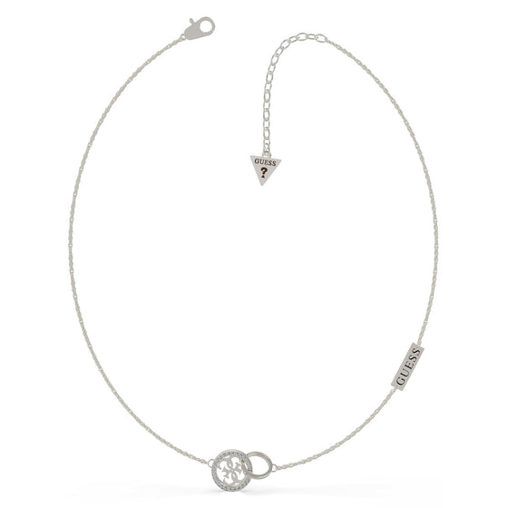 Guess Equilibre Silver Necklace