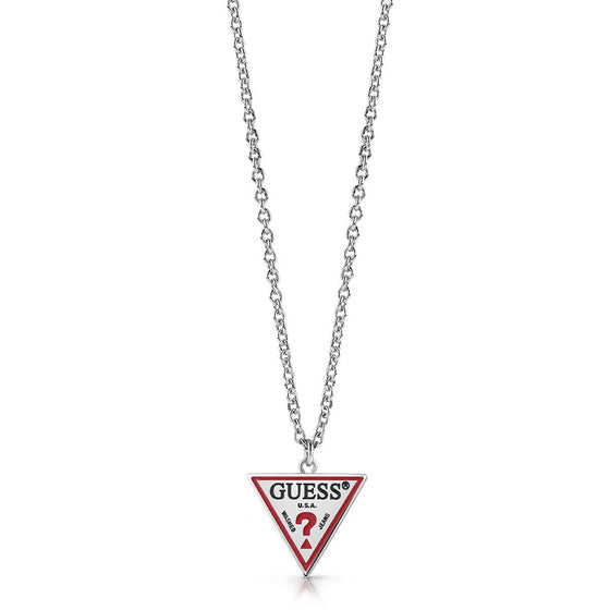 Guess LA Guessers Silver Necklace