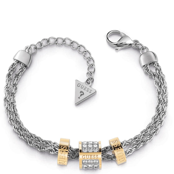 Guess Love Knot Two Tone Bracelet