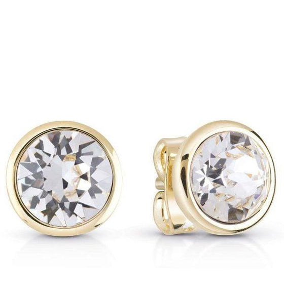 Guess miami gold stud earrings