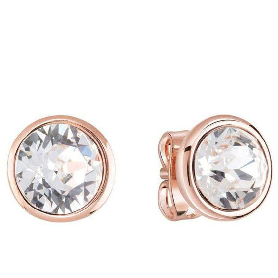 Guess Miami Rose Gold Stud Earrings