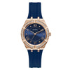 Guess Cosmo Rose Gold & Navy Watch