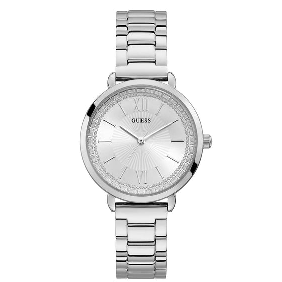 Guess Posh Silver Watch