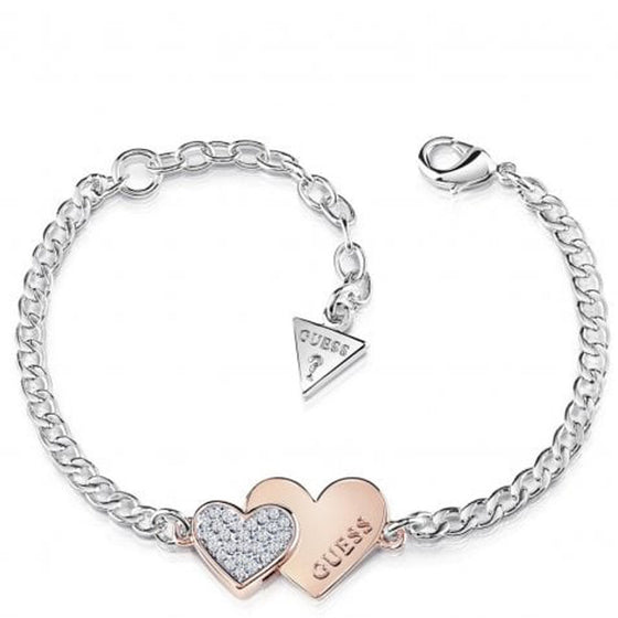 Guess You & Me Two Tone Bracelet