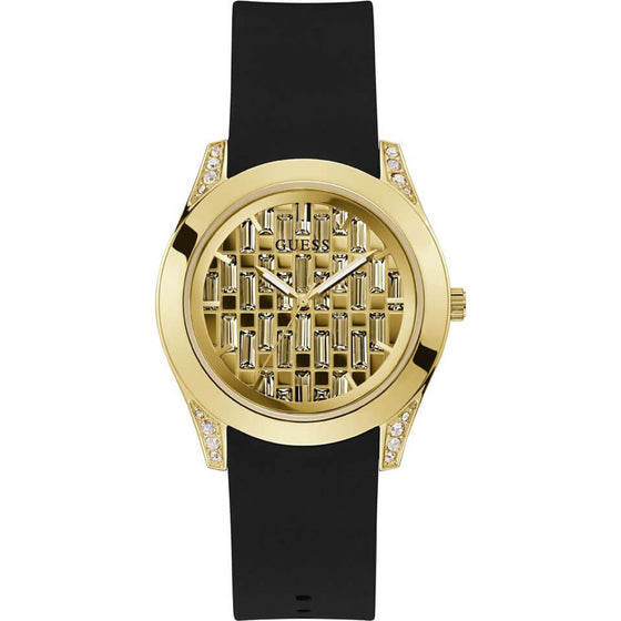 Guess Clarity Gold Watch