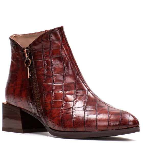 Hispanitas Auburn Leather Boots