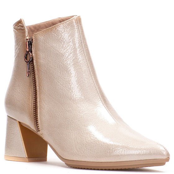 Hispanitas Champagne Leather Boots