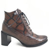 Jose Saenz Brown Leather Lace Up Boots