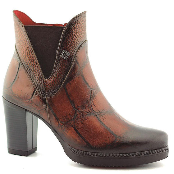 Jose Saenz Tan Leather Boots 7183-k-c