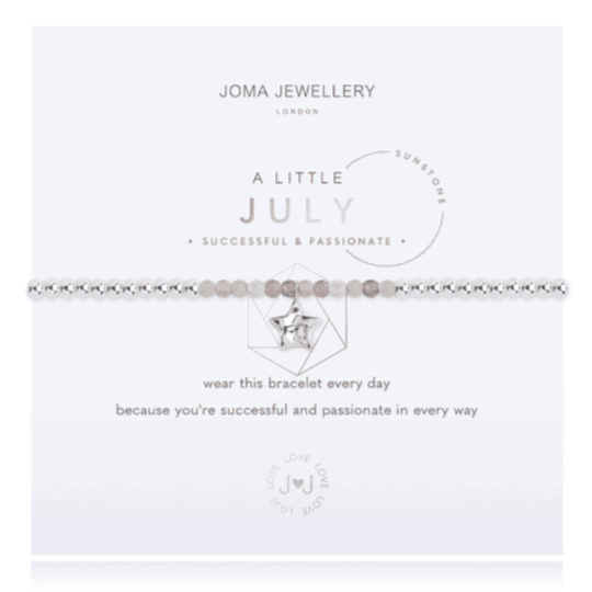 july birthday bracelet