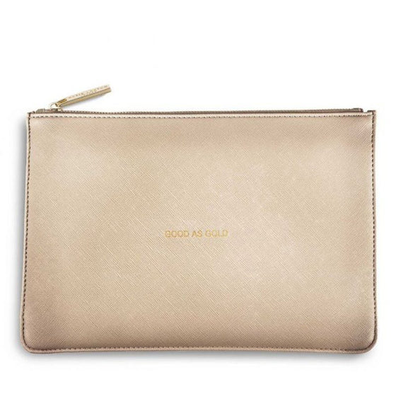 Katie Loxton Perfect Pouch - Good As Gold