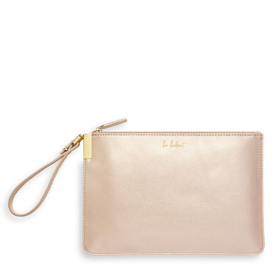 Katie Loxton Secret Message Pouch - Be Brilliant
