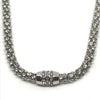 Nour Silver Crystal Magnetic Necklace