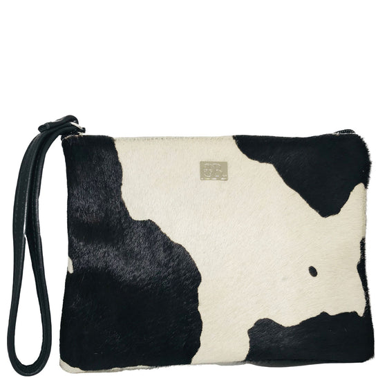 Owen Barry Minnie Black Splash Purse