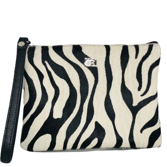Owen Barry Minnie Zebra Purse