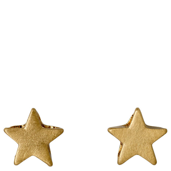 Pilgrim Ava Star Stud Earrings - Gold