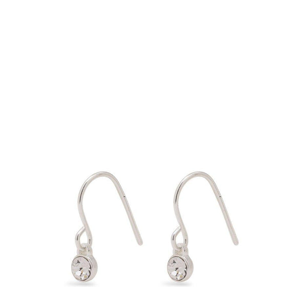 Pilgrim Lucia Silver Fine Drop Earrings