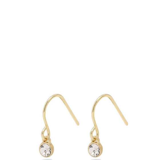 Pilgrim Lucia Gold Fine Drop Earrings