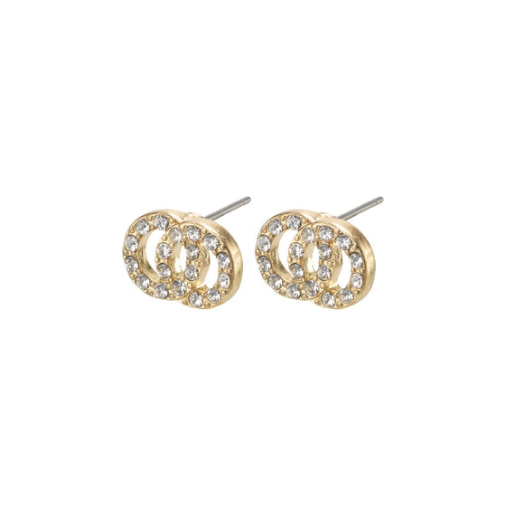 Pilgrim Victoria Gold Stud Earrings