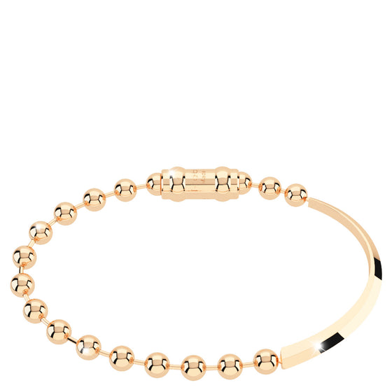 Rebecca My World Gold Ball & Bar Bracelet