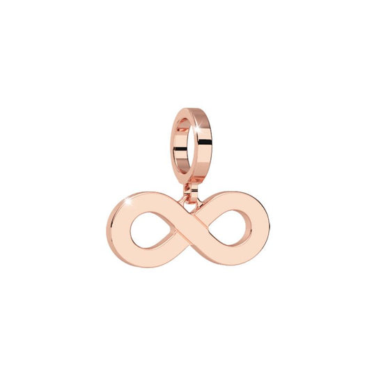 Rebecca My World Rose Gold Infinity Forever charm