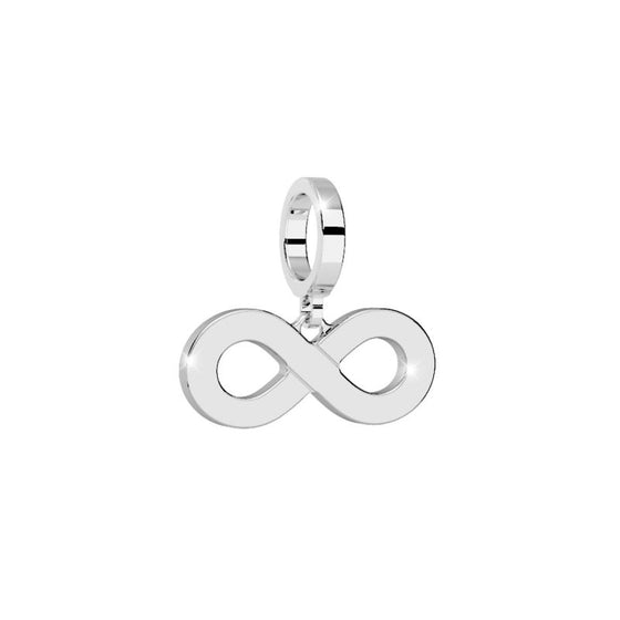 Rebecca My World Silver Infinity Forever charm