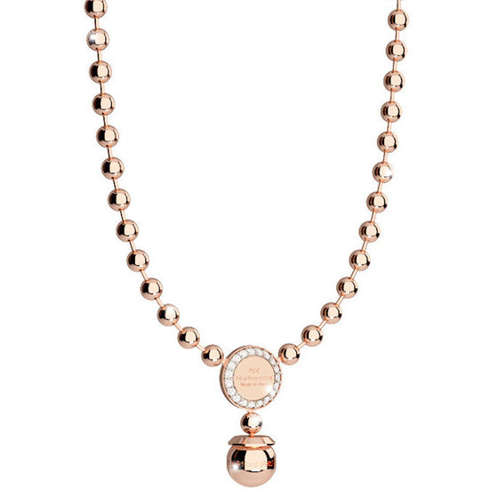 Rebecca Rose Gold Hollywood Necklace