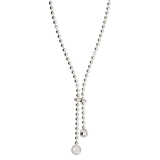 Rebecca Silver Boulevard Necklace - Long Length
