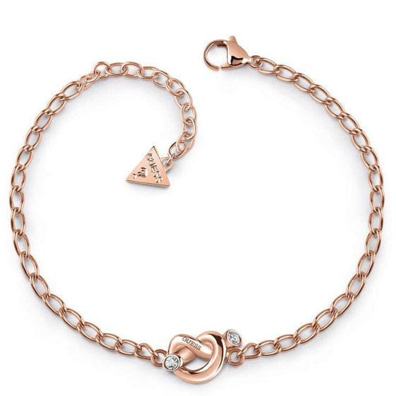Guess Knot Rose Gold Bracelet
