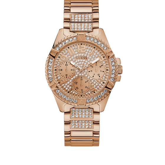 Guess Lady Frontier Rose Gold Watch