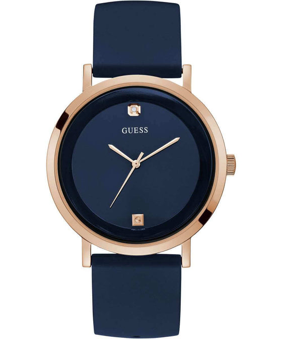 Guess Gents Rose Gold Dress Watch